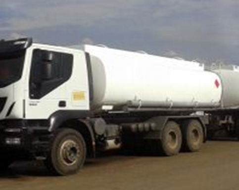 Fuel Transport Company in Ethiopia - Iveco Track Fuel